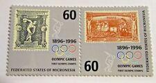 MICRONESIA Sc #241 set ** MNH, Olympic Centennial , Fine +