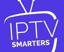iP'TV Smarters Pro Abonnement 12 mois(✔️M3U✔️SMART TV✔️ANDROID✔️MAG)🔥 4K FHD🔥