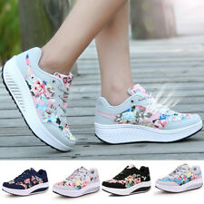 Lightweight Womens Athletic Sports Shoes Breathable Sneakers Trainers Lace UP AU