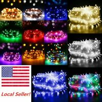 Christmas Fairy String Lights 100-1000 LEDs Wedding Xmas Brithday Party Decor