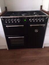 Stoves Richmond 900DF Dual Fuel Black Kitchen Range - 3 ovens,  5 burners