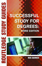 Successful Study for Degrees (Routledge Study Guides)-ExLibrary