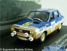 RENAULT 12 GORDINI CAR MODEL 1:43 SIZE 1975 IXO ATLAS TOUR DE CORSE RALLY T4
