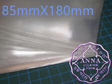 PCCB Professional Banknote Sleeves 85mmX180mm 50 Pcs