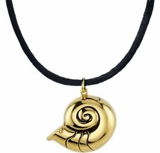 """16""""+2"""" Rocklove Disney The Little Mermaid Shell Locket Music Notes Necklace"""