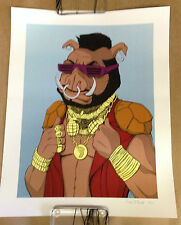 Isaac Bidwell SIGNED Mr. T-Bop #1 of 50 11x14 INCH.Hero Complex Gallery RARE #1