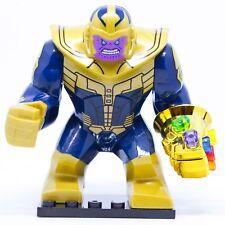LEGO MINIFIGURES THANOS CON GUANTO INFINITO E 6 GEMME INFINITY WAR CUSTOM LIKE