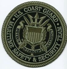 United States Coast Guard Patch Maritime safety&security team 4 in Subdued #1024