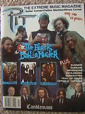 PIT EXTREME MUSIC MAGAZINE # 52 HATE ETERNAL CANDLEMASS AS I LAY DYING ARCH ENEM