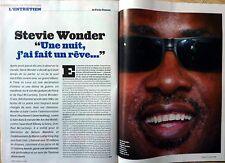 Mag 2005: Interview 4 pages STEVIE WONDER_NIGEL KENNEDY_ALBANIE