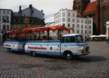"""Ansichtskarte: Barkas B1000 als Kleinbus """"Petermännchen"""" in Schwerin, 2005"""