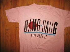 "New listing Bang Bang * Vtg 1983 ""Life Part 2"" Single-Stitch T-Shirt * duran lp rock 80's *S"