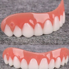 Silicone Fake Teeth Novelty Instant Smile Bottom Cosmetic Teeth Perfect Smile