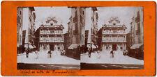 Espagne.España.Pamplona.Pampelune.Hôtel de ville.Ayuntamiento.Photo stereo view.