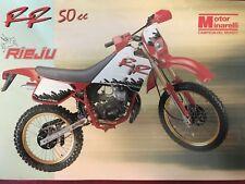 Motor Minarelli Rieju RR 50 cc Brochure Prospect ES