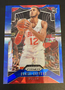 2019-20 Panini Prizm DANIEL GAFFORD Rookie Blue Ice Prizm #d /99 Chicago Bulls
