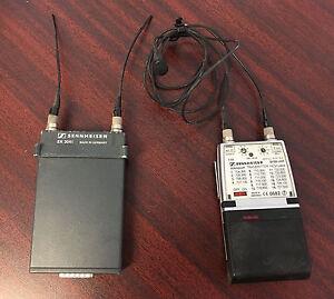 Sennheiser EK 3041-U Receiver & SK50-UHF Transmitter Bundle 704.300-727.500 MHz