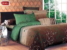 LEXTON Double Size Bed Duvet/Doona/Quilt Cover Set New 100% Cotton