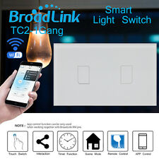 Broadlink TC2 Automation Switch Wifi Light Double Touch Control Remote Wireless