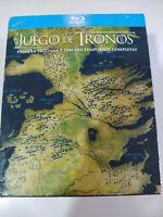 Juego de Tronos Temporadas 1-2-3 - Blu-Ray Español Ingles