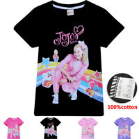 NWT JoJo Siwa Girls Top Short Sleeve T Shirt Tee Be Your Own Star Size  4 -11
