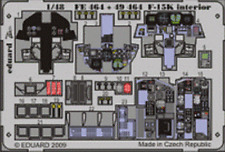 EDUARD ZOOM FE464 Interior S.A. for Academy Kit F-15K in 1:48