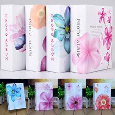 "4x6"" Flowers Photo Album 100 Photos Storage For Mommy Book Baby Polaroid Wedding"
