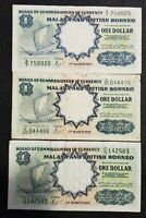 1959 BOARD Of COMMISSIONERS of CURRENCY MALAYA $1 scarce view PICTURE 3 NOTESABC