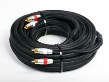 Atlona 7m 23ft Stereo Analog Audio Dual 2 RCA Cable - Premium Double Shielded
