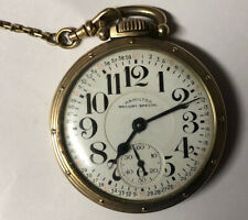 1949 Hamilton 992b Railroad Pocket Watch 16s 21j Openfacw W Stand And Chain 10kg