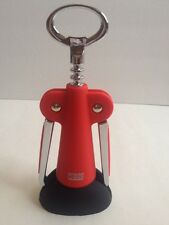 New listing Red Oggi Wing Corkscrew And Bottle Opener With Stand New