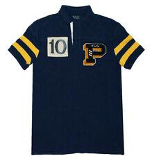 477557ff82 Men's Ralph Lauren Short-sleeve Polo Shirt Blue Custom Slim S Small