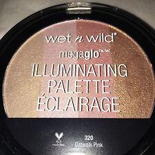 SALE! Wet N Wild Mega Glo Highlighter Illuminating Palette Catwalk Pink Gold
