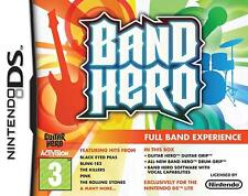 Band Hero: Band Bundle NDS DS Lite  Full set including Drum Grip and Guitar Grip