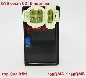 Einstellbare Racing Tuning CDI Zündbox für GY6 50,125,150ccm Doppelstecke Roller