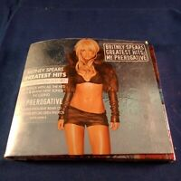 CD Britney Spears Greatest Hits Limited Edition 2 CD Set Silver