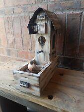 Holy Vintage Rustic Gothic Jesus Church Farmhouse Birdhouse