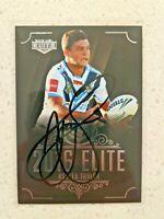 ✺Signed✺ 2016 Elite Ashley Taylor (Gold Coast Titans) NRL Rugby League card