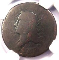 1793 Liberty Cap Flowing Hair Half Cent 1/2C - NGC Poor 1 BN - $1,500 Value