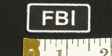 FBI Iron-On Patch/Badge for F.B.I. Agent T-Shirt/Hat/Cap/Bag 25P