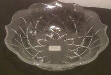"Gorham Lady Anne Crystal Serving Piece Bowl 12"" Dish"