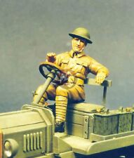 Resicast 1/35 British Driver for Ford Model T WWI [Resin Figure kit] 355560
