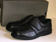 Hush Puppies Gil Black Leather Hook Loop Men's Size 13 Medium H18800 Loafer