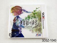 Shin Sekaiju no Meikyuu Etrian Odyssey Untold Nintendo 3DS Japanese Import A