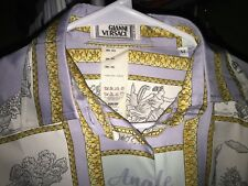 Rare 90's Gianni Versace silk shirt, Men XS (Women 44)