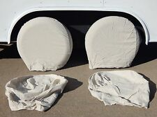 Tire  Wheel Covers  Set Of 4 Four Trailer RV  Motor Home Car Truck New