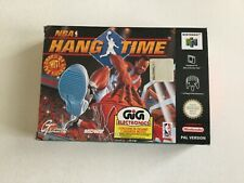 N64 NINTENDO 64 NBA HANGTIME  PAL  MULTILANGUAGE BOX NEW IN BOX NIB