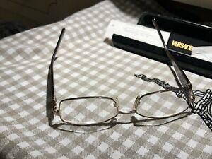 Versace  eyeglasses  Prescription  Unisex  Eye Glasses   52 o 16