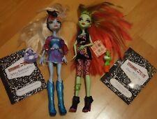 Monster High Muñecas, mascotas y diarios-Abbey & Venus-Usado