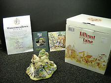 Lilliput Lane Watermeadows Cottage 1994 Anniversary Cottage NIB & Deeds #671